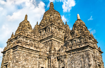 Fotomurales - Sewu Temple at Prambanan near Yogyakarta in Central Java, Indonesia