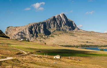 Rural landscape in inland Sicily, near Piana degli Albanesi