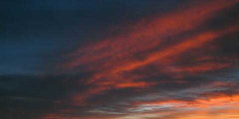Deurstickers Bordeaux Sky