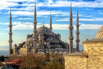 Fototapeta Scenic View Of Hagia Sophia Against Sky