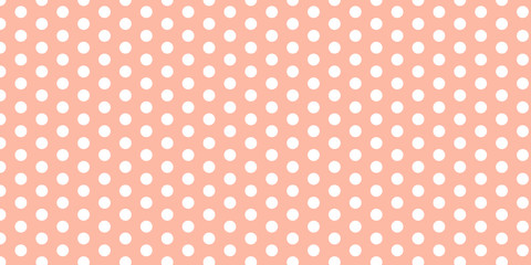 seamless polka dots pattern with polka dots