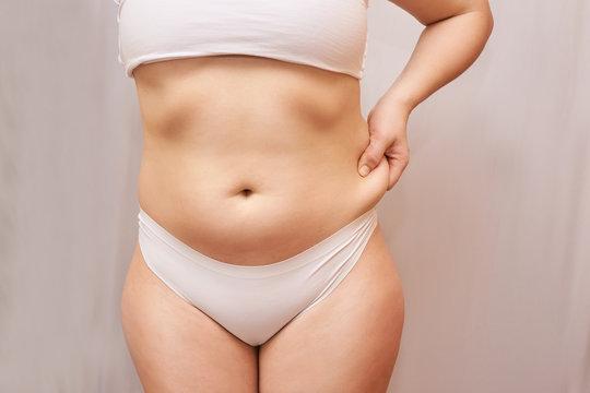Chubby belly girls