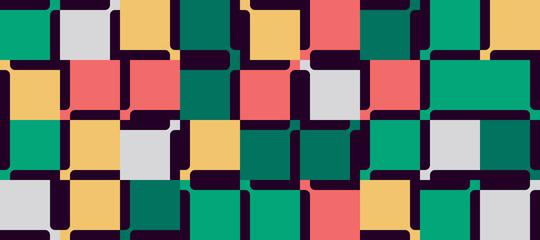 Mosaic Abstract Vector Pattern Design Wall mural