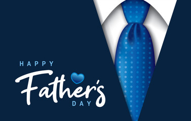 Happy Father's Day Fotobehang