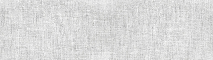 Printed roller blinds Fabric Gray white bright natural cotton linen textile texture background banner panorama