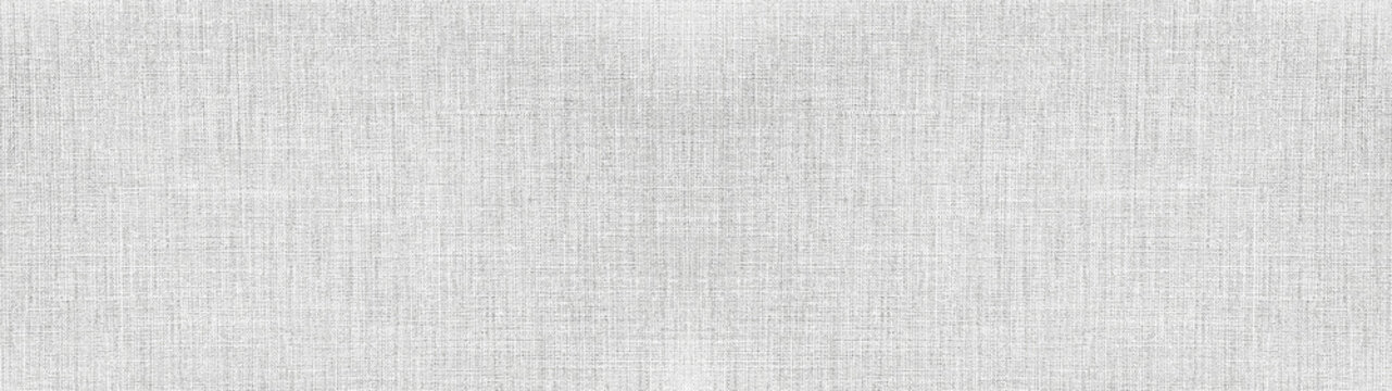 Gray white bright natural cotton linen textile texture background banner panorama