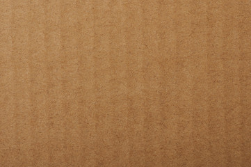 Texture of carton brown paper