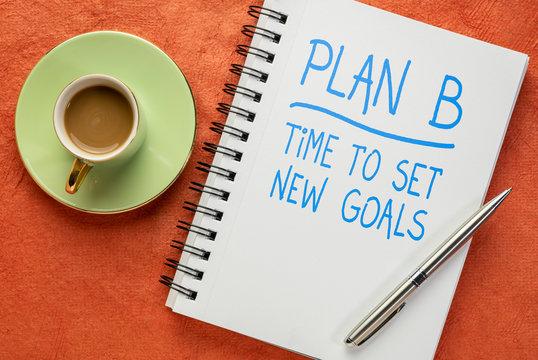 plan B - time to set new goals