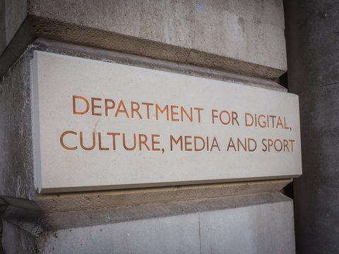 Department for Digital Culture and Sport- a UK government department in Whitehall, Westminster