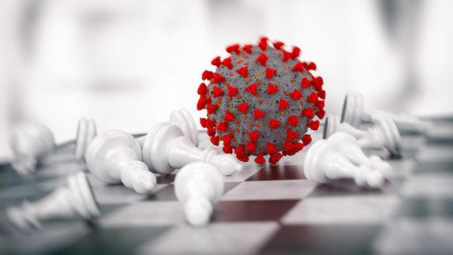 Virus has turned the global economy upside down