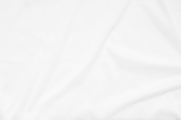 Fotorolgordijn Stof Abstract and soft focus wave of white fabric background