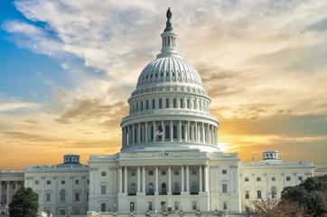 Capitol Building in Washington DC USA Fototapete