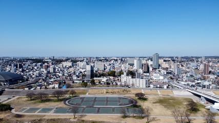 豊田市街地 航空写真