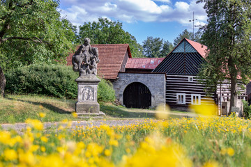 Fototapeta Kopicuv statek (Jirosova rychta) z 18. stol., Hruba Skala, Cesky raj, Ceska republika / Kopic estate from 18th Cent., Bohemian Paradise region, Czech republic