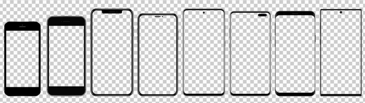 New Smartphones with transparent screens