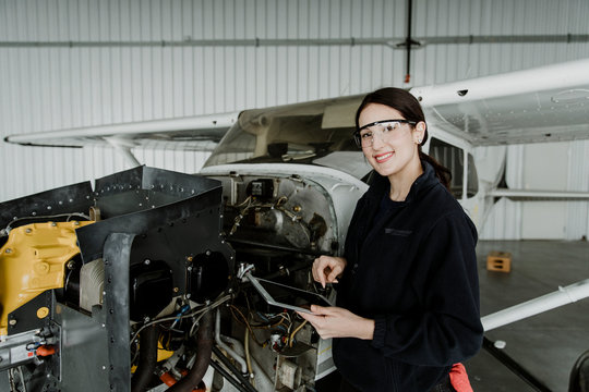 Aviation technician career