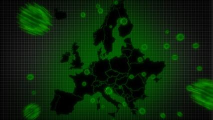 Global Pandemic - Coronavirus attacking Europe