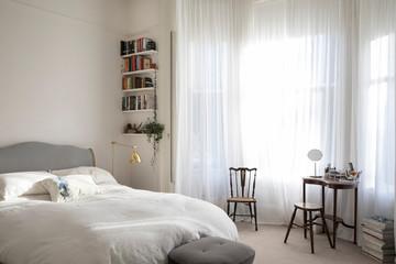 Bedroom in period property