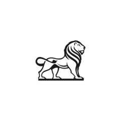 lion logo for your business icon