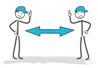 distanciation sociale coronavirus covid 19 geste barrière Fototapete