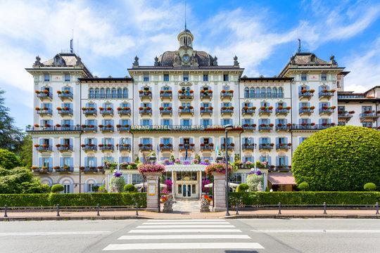 10 June 2019. Grand Hotel Des Iles Borromees, Stresa,  Lake Maggiore, Italy