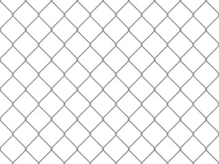 Design with chain link fence, easy to combine in seamless pattern