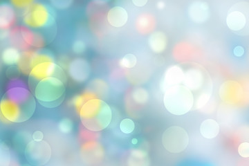 Wall Mural - Abstract colorful bokeh background