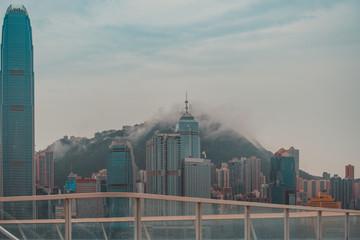 Fotomurales - Hong Kong Cityscape after rain; Hong Kong Landscape