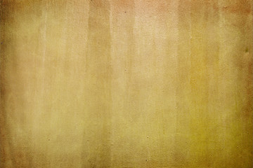 Wall Mural - Weathered yellow paper