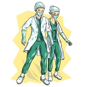 Medics on the frontline