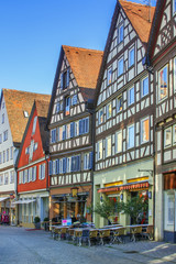 Fototapete - Street in Schwabisch Hall, Germany