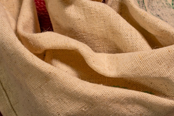 Texture Of Are The Burlap
