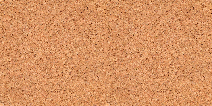 empty corkboard or pinboard or bulletin board cork background in wide format