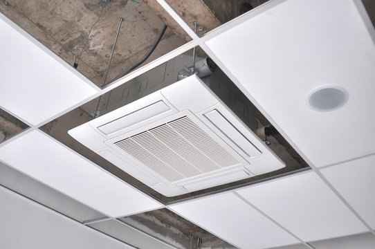 Mechanical System Ceiling Cassette Air Conditioning