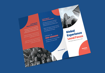 Trifold Brochure Layout