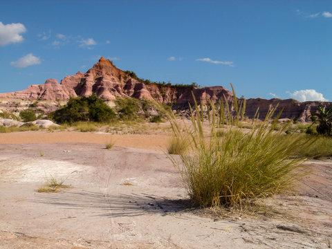 Site du Cirque Rouge à Mahajanga - Madagascar.