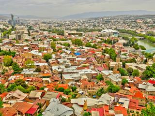 Wall Mural - Tbilisi cityscape, Georgia