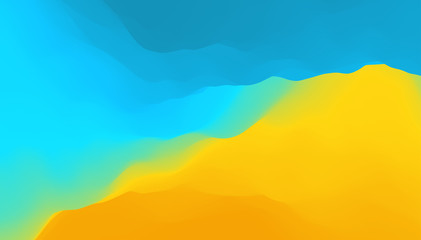 Wall Mural - Abstract background with dynamic effect. Creative design poster with vibrant gradients. Vector Illustration for advertising, marketing, presentation. Mobile screen.