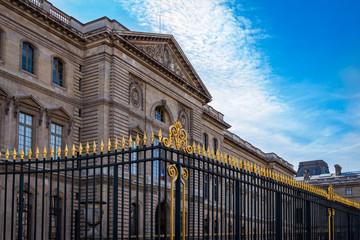 Palais du Louvre in Paris, France
