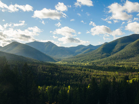 Lewis and Clark National Forest, Rocky Mountains, Montana, USA