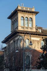Wall Mural - Historic building along via Mascheroni in Milan