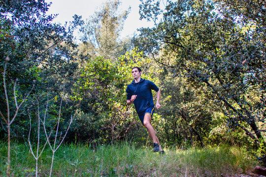 Course à pied en nature