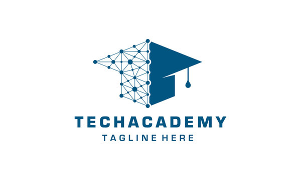 education technology logo design template
