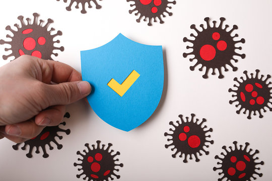 infections stop by protection of virus cell