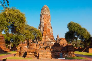Ayutthaya Thailand huge temple complex