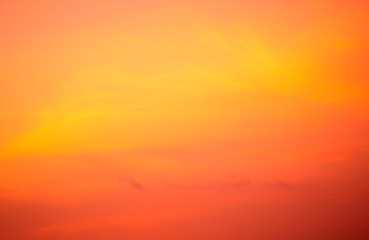 Photo sur Aluminium Corail Spectacular tropical skies after the sunset. Colorful nature background.