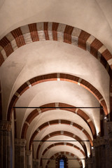 Wall Mural - Interior of Sant Ambrogio church , Milan