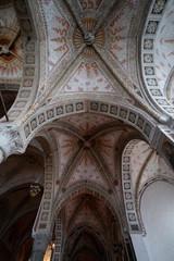 Wall Mural - Church of Santa Maria delle Grazie in Milan, Italy. Interior