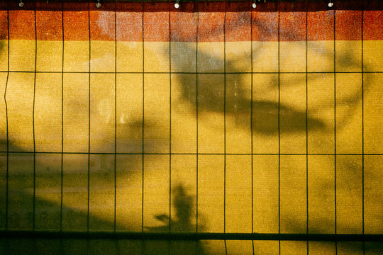 Shadow On Yellow Canvas