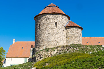 Wall Mural - Rotunda of the Holy Catherine, Znojmo, South Moravia Czech Republic